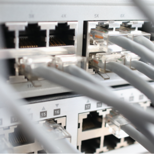 Internet Kabels Vierkant